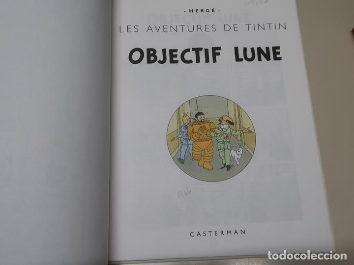 Cómics: LES AVENTURES DE TINTIN. OBJECTIF LUNE. 1981 CASTERMAN - Foto 2 - 168261928