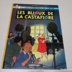 Cómics: LES AVENTURES DE TINTIN. LES BIJOUX DE LA CASTAFIORE. 1966 CASTERMAN. Lote 168262716