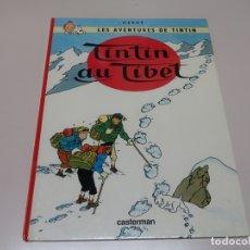 Cómics: LES AVENTURES DE TINTIN. TINTIN AU TIBET. 1966 CASTERMAN. . Lote 168262940