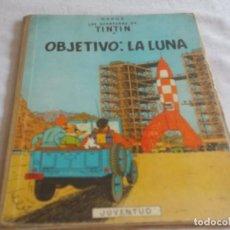 Cómics: TINTIN OBJETIVO LA LUNA . Lote 168329100