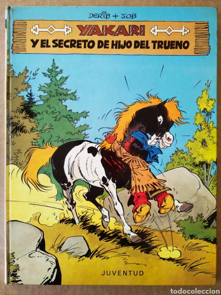 YAKARI Y EL SECRETO DE HIJO DEL TRUENO (JUVENTUD, 1981). POR DERIB Y JOB. 48 PÁGINAS A COLOR. (Tebeos y Comics - Juventud - Yakary)