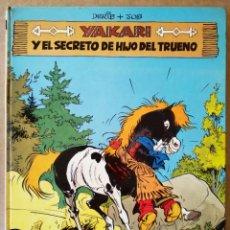 Cómics: YAKARI Y EL SECRETO DE HIJO DEL TRUENO (JUVENTUD, 1981). POR DERIB Y JOB. 48 PÁGINAS A COLOR.. Lote 168420800