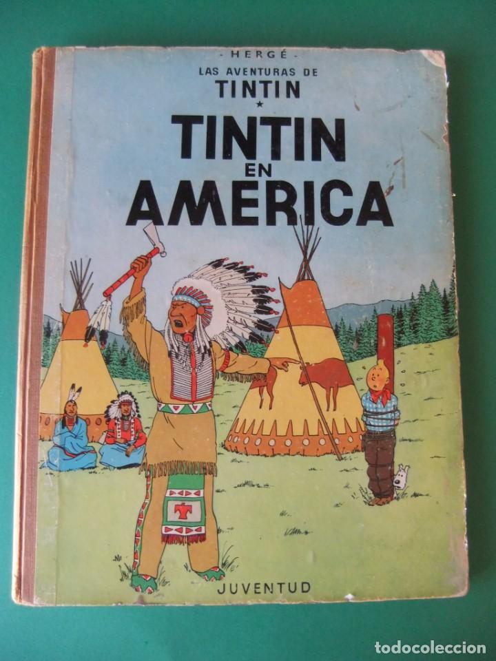 TINTIN EN AMERICA JUVENTUD (Tebeos y Comics - Juventud - Tintín)