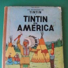 Cómics: TINTIN EN AMERICA JUVENTUD. Lote 168430064