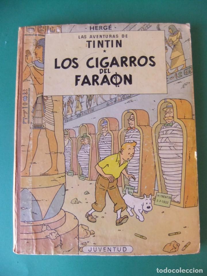TINTIN LOS CIGARROS DEL FARAON JUVENTUD (Tebeos y Comics - Juventud - Tintín)