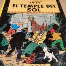Cómics: LES AVENTURES DE TINTIN / EL TEMPLE DEL SOL / ED - JOVENTUD-1986 / 8ª EDICIÓ / LEER. Lote 169286668