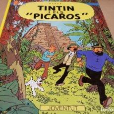 Cómics: LES AVENTURES DE TINTIN / TINTIN I ELS PICAROS/ ED - JOVENTUD-1988 / 7ª EDICIÓ / LEER. Lote 169286896