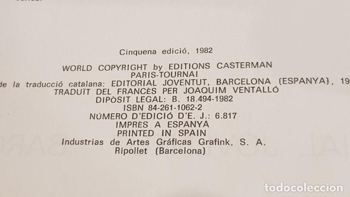 Cómics: LES AVENTURES DE TINTIN / STOC DE COC / ED - JOVENTUD-1982 / 5ª EDICIÓ / LEER - Foto 2 - 169287456