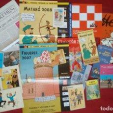 Cómics: LOTE ESPECIAL PARA TINTINÓFILOS. EVENTOS TINTÍN.. Lote 169306156
