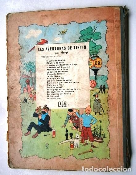 Cómics: El Loto Azul (Las aventuras de Tintín) por Hergé de Ed. Juventud en Barcelona 1965 Primera edición - Foto 3 - 169406884