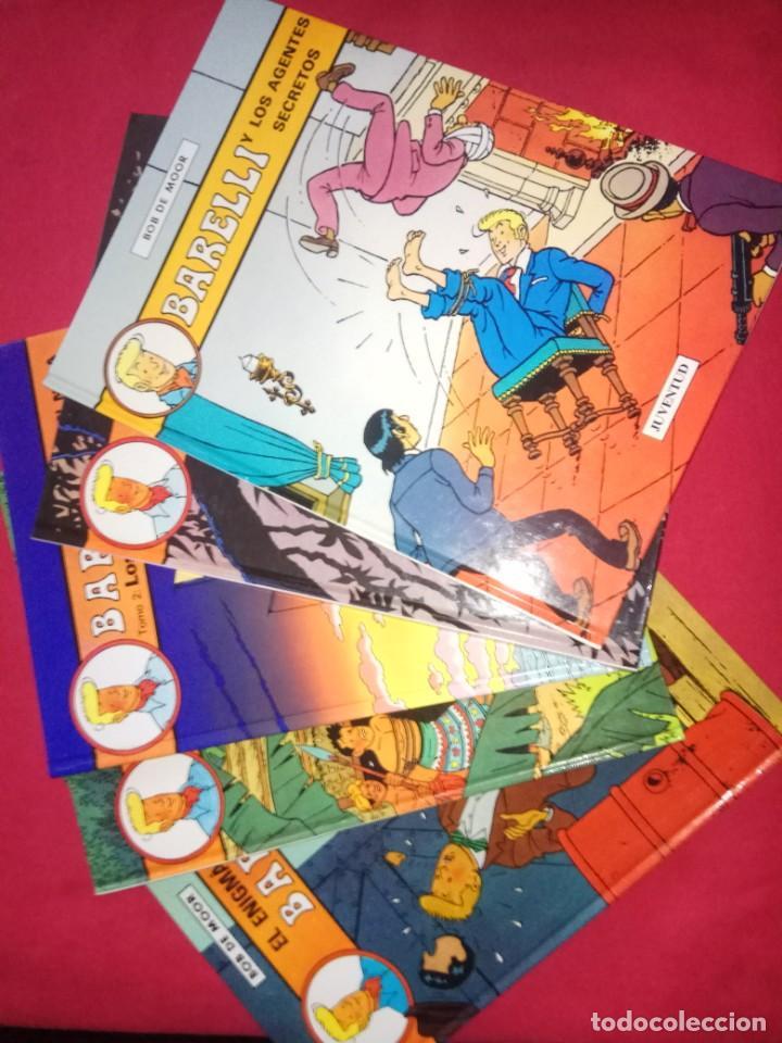 Cómics: BARELLI- Colección COMPLETA- Bob de Moor- 5 tomos Editorial Juventud.1990-1992 - Foto 2 - 169696904