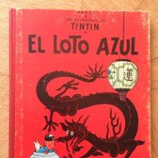 Cómics: TINTÍN - EL LOTO AZUL. 3 EDICIÓN. AÑO 1970.. Lote 169896305