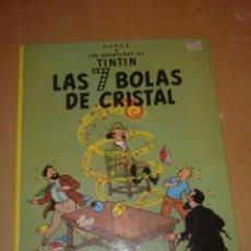 Cómics: TINTIN LAS 7 BOLAS DE CRISTAL. Lote 170541208