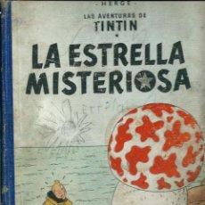 Cómics: HERGE - TINTIN - LA ESTRELLA MISTERIOSA - JUVENTUD 1960 1ª EDICIÓN - SUFRIDO, VER DESCRIPCION. Lote 170884205