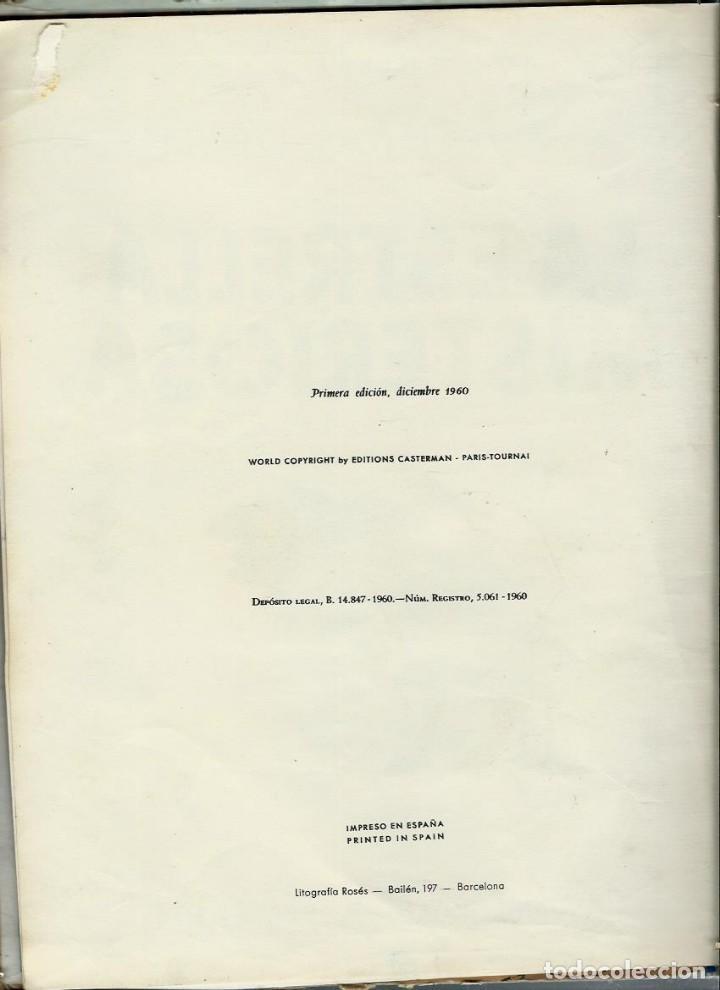 Cómics: HERGE - TINTIN - LA ESTRELLA MISTERIOSA - JUVENTUD 1960 1ª EDICIÓN - SUFRIDO, ver descripcion - Foto 4 - 170884205