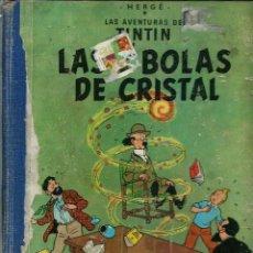 Cómics: HERGE - TINTIN - LAS 7 BOLAS DE CRISTAL - JUVENTUD 1961 1ª EDICIÓN - SUFRIDO, VER DESCRIPCION. Lote 170884450