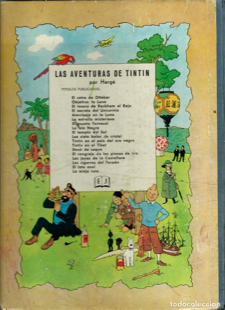 Cómics: HERGE - TINTIN - EL LOTO AZUL - JUVENTUD 1965 1ª EDICIÓN - IMPRENTA ROSES - VER DESCRIPCION - Foto 2 - 170976573