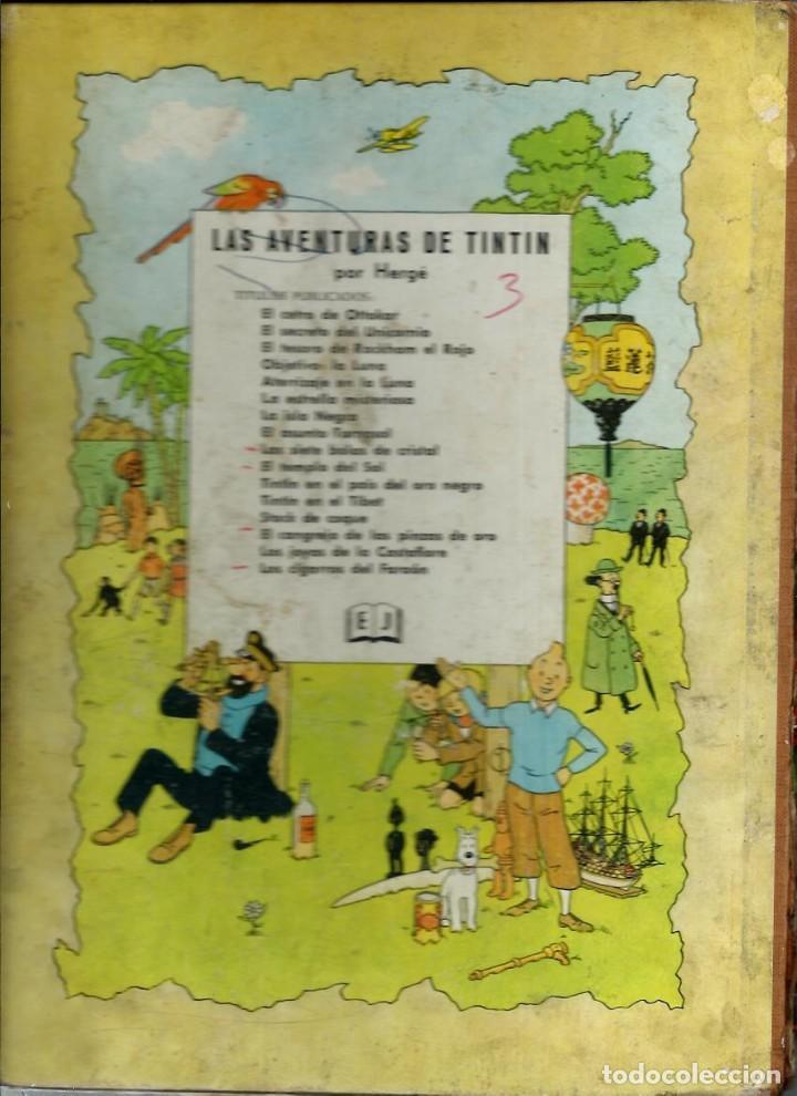 Cómics: HERGE - TINTIN - LOS CIGARROS DEL FARAON - JUVENTUD 1964 1ª EDICIÓN - VER DESCRIPCION - Foto 2 - 170976800