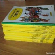 Cómics: LOTE 15 ÁLBUMS TINTIN CON DICCIONARI DE TINTIN (TODOS EN CATALÁN) JOVENTUT. Lote 171599913