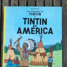 Cómics: TINTIN EN AMÉRICA. AUTOR, HERGE. EDITORIAL JUVENTUD, 9ª EDICIÓN DE 1986. TAPA DURA. VER FOTOS. Lote 67826373