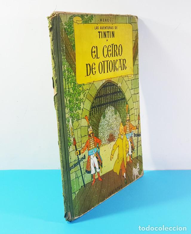 Cómics: LOTE 3 TOMOS TINTIN 2ª Y 3ª EDICION, EL CETRO DE OTOKAR, EL SECRETO DEL UNICORNIO,EL TEMPLO DEL SOL - Foto 12 - 172055497