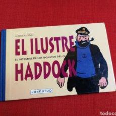 Cómics: EL ILUSTRE CAPITÁN HADDOCK:TODOS SUS INSULTOS EN LAS AVENTURAS DE TINTIN.JUVENTUD. Lote 172090037