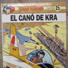 Comics : YOKO TSUNO - EL CANO DE KRA - Nº 15 - EDIT. JUVENTUD - TAPA DURA - CATALAN. Lote 172090109
