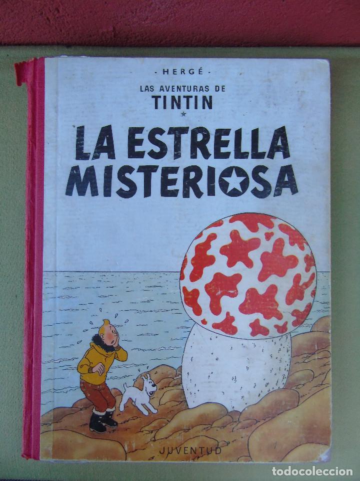LAS AVENTURAS DE TINTIN.LA ESTRELLA MISTERIOSA. HERGÉ. ED. JUVENTUD. 3ª EDICIÓN. DICIEMBRE 1967. (Tebeos y Comics - Juventud - Tintín)