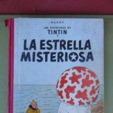 Cómics: LAS AVENTURAS DE TINTIN.LA ESTRELLA MISTERIOSA. HERGÉ. ED. JUVENTUD. 3ª EDICIÓN. DICIEMBRE 1967.. Lote 172094443