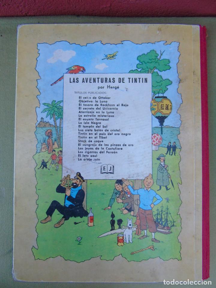 Cómics: LAS AVENTURAS DE TINTIN.LA ESTRELLA MISTERIOSA. HERGÉ. ED. JUVENTUD. 3ª EDICIÓN. DICIEMBRE 1967. - Foto 4 - 172094443