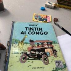 Cómics: LES AVENTURES DE TINTIN - TINTIN AL CONGO - PRIMERA (1ª) EDICIÓ 1969 - ( EN CATALÁN ). Lote 172094849