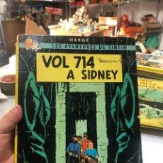 Cómics: VOL 714 A SIDNEY - LES AVENTURES DE TINTÍN - COMIC EN CATALÀ DE HERGÉ - SEGUNDA EDICIÓN 1976. Lote 172097275