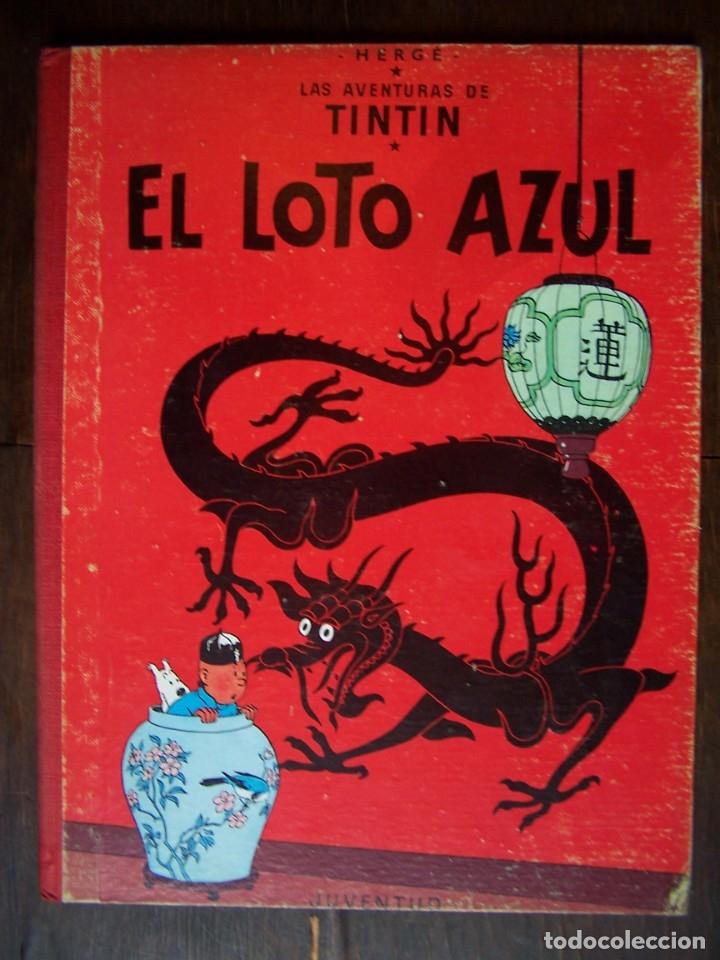 TINTIN - EL LOTO AZUL. 3ERA EDICIÓN. 1970 (Tebeos y Comics - Juventud - Tintín)