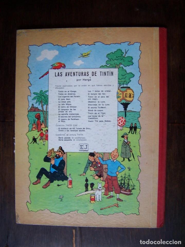 Cómics: Tintin - EL LOTO AZUL. 3era Edición. 1970 - Foto 2 - 172229354