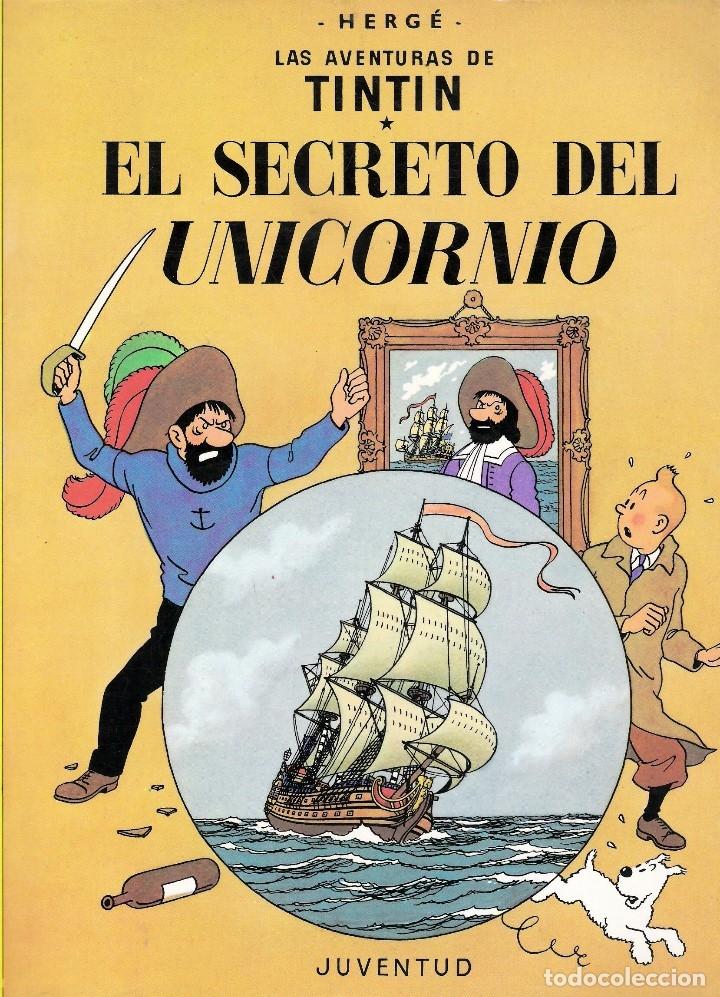 EL SECRETO DEL UNICORNIO (Tebeos y Comics - Juventud - Tintín)