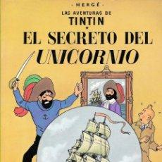Cómics: EL SECRETO DEL UNICORNIO. Lote 172240994