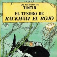 Cómics: EL TESORO DE RACKHAM EL ROJO. Lote 172241384