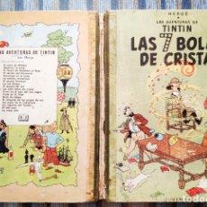 Cómics: LAS AVENTURAS DE TINTIN: LAS 7 BOLAS DE CRISTAL (SEGUNDA EDICION) - HERGE (JUVENTUD 1967). Lote 172318958