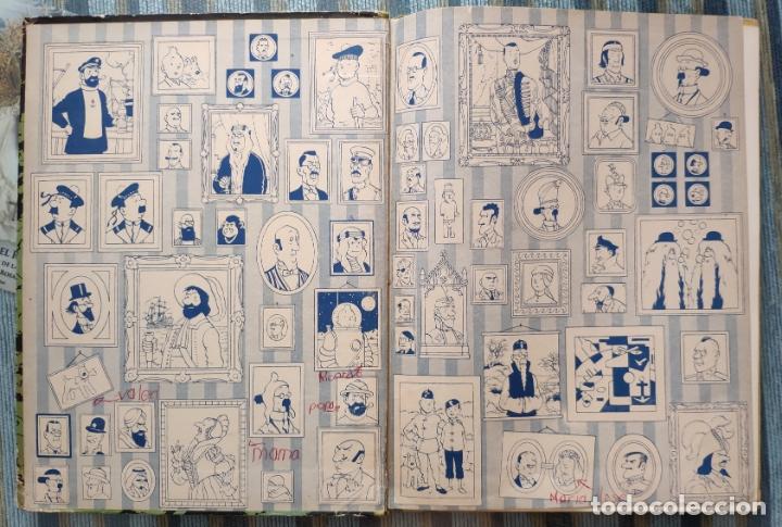 Cómics: LAS AVENTURAS DE TINTIN: ATERRIZAJE EN LA LUNA (SEGUNDA EDICION) - HERGE (JUVENTUD 1965) - Foto 2 - 172319924