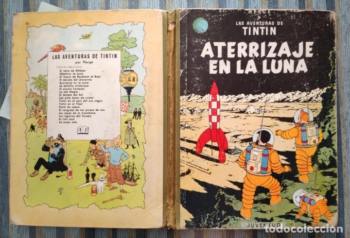 LAS AVENTURAS DE TINTIN: ATERRIZAJE EN LA LUNA (SEGUNDA EDICION) - HERGE (JUVENTUD 1965) (Tebeos y Comics - Juventud - Tintín)