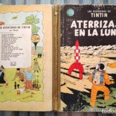 Cómics: LAS AVENTURAS DE TINTIN: ATERRIZAJE EN LA LUNA (SEGUNDA EDICION) - HERGE (JUVENTUD 1965). Lote 172319924