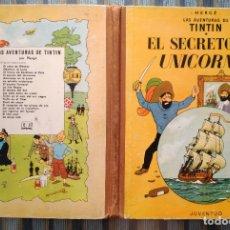 Cómics: LAS AVENTURAS DE TINTIN: EL SECRETO DEL UNICORNIO (TERCERA EDICION) - HERGE (JUVENTUD 1965). Lote 172320183