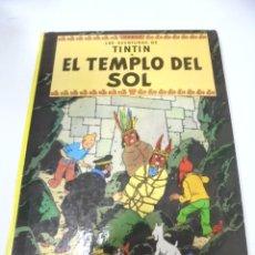 Cómics: LAS AVENTURAS DE TINTIN. EL TEMPLO DEL SOL. 6º EDICION. 1981. EDITORIAL JUVENTUD. Lote 172467842