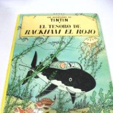 Cómics: LAS AVENTURAS DE TINTIN. EL TESORO DE RACKHAM EL ROJO. 8º EDICION. 1981. EDITORIAL JUVENTUD. Lote 172467945