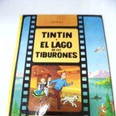 Cómics: LAS AVENTURAS DE TINTIN. TINTIN Y EL LAGO DE LOS TIBURONES. 4º EDICION. 1981. EDITORIAL JUVENTUD. Lote 172469152