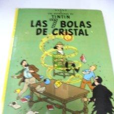 Cómics: LAS AVENTURAS DE TINTIN. LAS 7 BOLAS DE CRISTAL. 7º EDICION. 1982. EDITORIAL JUVENTUD. Lote 172469587