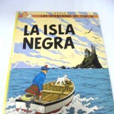 Cómics: LAS AVENTURAS DE TINTIN. LA ISLA NEGRA. 7º EDICION. 1981. EDITORIAL JUVENTUD. Lote 172469707