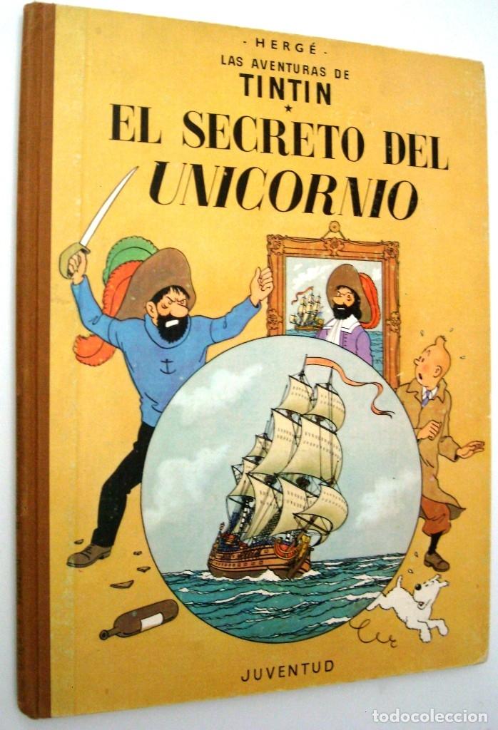 TINTIN - EL SECRETO DEL UNICORNIO - 1968 (Tebeos y Comics - Juventud - Tintín)