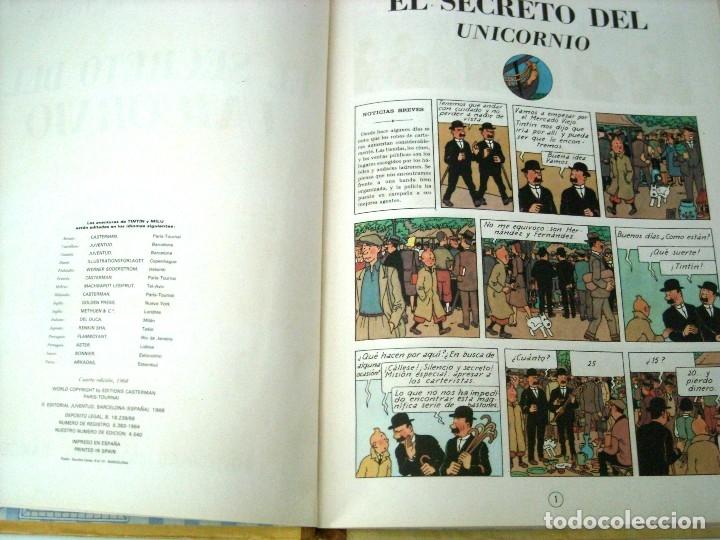 Cómics: TINTIN - EL SECRETO DEL UNICORNIO - 1968 - Foto 2 - 172774888