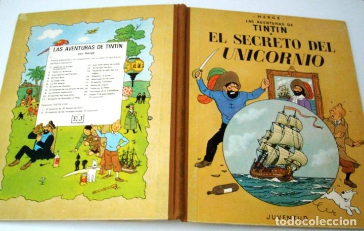 Cómics: TINTIN - EL SECRETO DEL UNICORNIO - 1968 - Foto 4 - 172774888